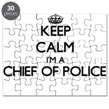 Keep calm I'm a Chief Of Police Puzzle