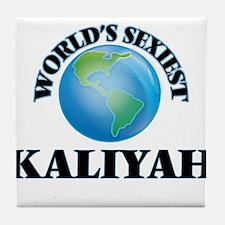World's Sexiest Kaliyah Tile Coaster