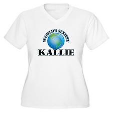 World's Sexiest Kallie Plus Size T-Shirt