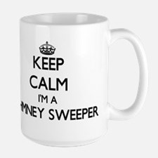 Keep calm I'm a Chimney Sweeper Mugs