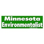 Minnesota Environmentalist Bumpersticker