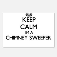 Keep calm I'm a Chimney S Postcards (Package of 8)