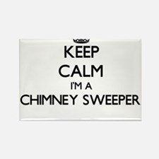 Keep calm I'm a Chimney Sweeper Magnets