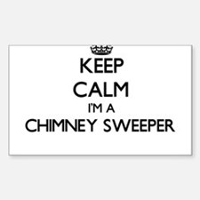 Keep calm I'm a Chimney Sweeper Decal