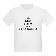 Keep calm I'm a Chiropractor T-Shirt