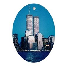 Twin Towers Christmas Ornament