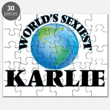 World's Sexiest Karlie Puzzle