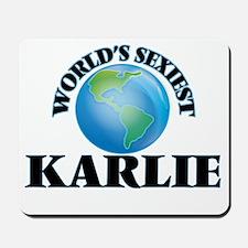 World's Sexiest Karlie Mousepad