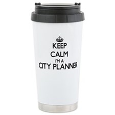 Keep calm I'm a City Pl Travel Mug