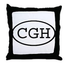 CGH Oval Throw Pillow