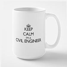 Keep calm I'm a Civil Engineer Mugs