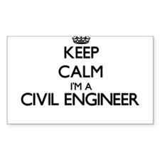 Keep calm I'm a Civil Engineer Decal