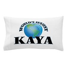 World's Sexiest Kaya Pillow Case