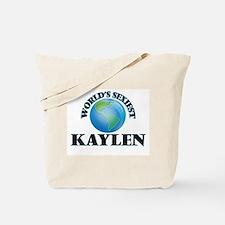 World's Sexiest Kaylen Tote Bag