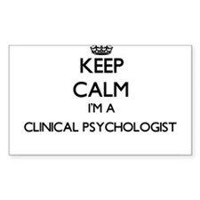 Keep calm I'm a Clinical Psychologist Decal