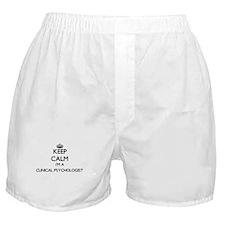 Keep calm I'm a Clinical Psychologist Boxer Shorts