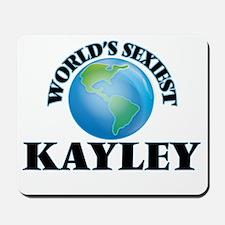 World's Sexiest Kayley Mousepad