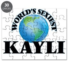 World's Sexiest Kayli Puzzle