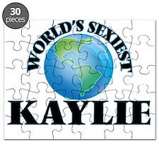 World's Sexiest Kaylie Puzzle
