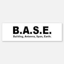 BASE Jumping Bumper Bumper Bumper Sticker