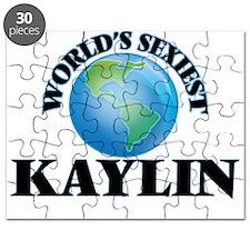 World's Sexiest Kaylin Puzzle