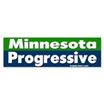 Minnesota Progressive Bumper Sticker
