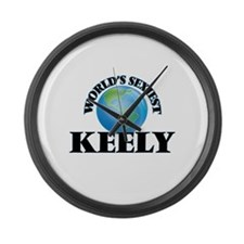 World's Sexiest Keely Large Wall Clock