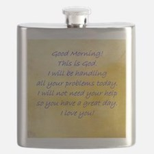 Good Morning From God Flask