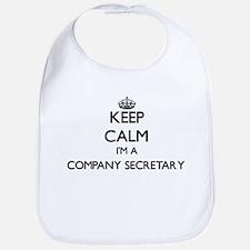 Keep calm I'm a Company Secretary Bib