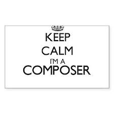 Keep calm I'm a Composer Decal
