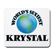 World's Sexiest Krystal Mousepad