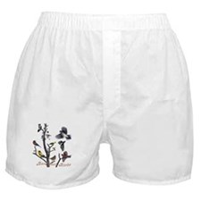 Backyard Birds Boxer Shorts