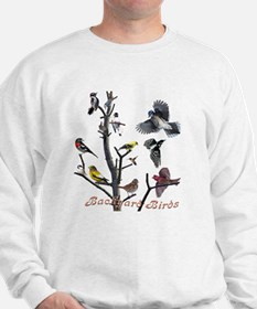 Backyard Birds Sweatshirt
