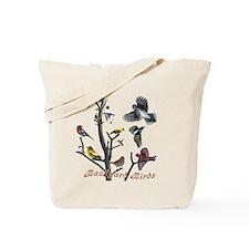 Backyard Birds Tote Bag