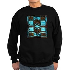 Aqua & Umber Sweatshirt