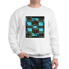 Aqua & Umber Sweater