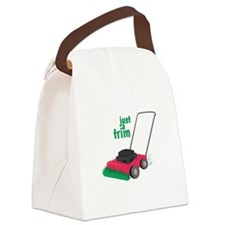 Just A Trim Canvas Lunch Bag
