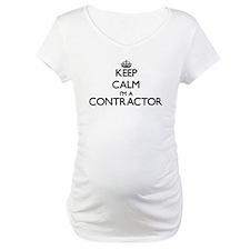 Keep calm I'm a Contractor Shirt