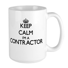 Keep calm I'm a Contractor Mugs