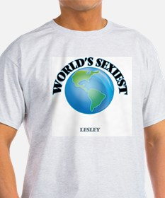 World's Sexiest Lesley T-Shirt