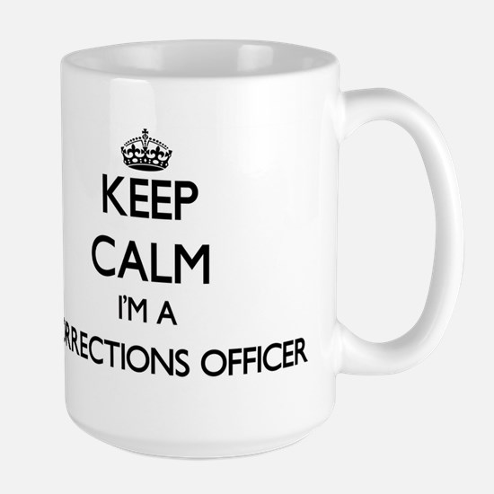 Keep calm I'm a Corrections Officer Mugs