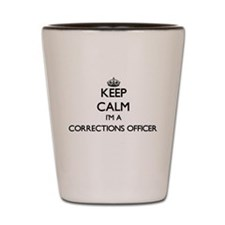 Keep calm I'm a Corrections Officer Shot Glass