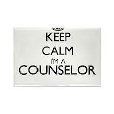 Keep calm I'm a Counselor Magnets