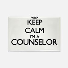 Keep calm I'm a Counselor Magnets