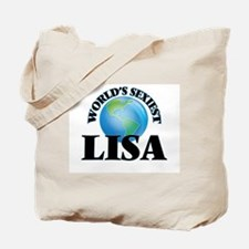 World's Sexiest Lisa Tote Bag