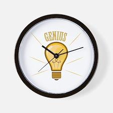 Genius Wall Clock
