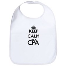 Keep calm I'm a Cpa Bib