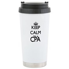 Keep calm I'm a Cpa Travel Mug