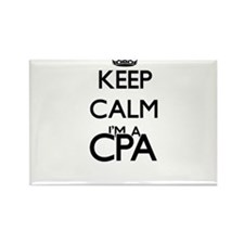 Keep calm I'm a Cpa Magnets