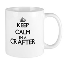 Keep calm I'm a Crafter Mugs